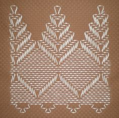 Swedish Weaving Huck Embroidery Pattern Set B Swedish Embroidery, Towel Embroidery, Ribbon Embroidery, Cross Stitch Embroidery, Embroidery Patterns, Cross Stitches, Free Swedish Weaving Patterns, Huck Towels, Bargello Needlepoint