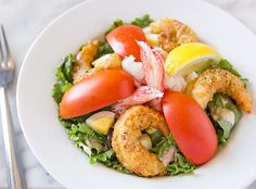 Classic Shrimp and Crab Louis Salad Recipe from Nordstrom. Photo by Jeff Powell.