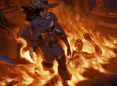 Marchesa's Emissary by Tyler Jacobson. MtG : Conspiracy. Wizards of the Coast