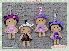 Doce Arte by Pati Guerrato Tilda Toy, Crafts For Kids, Arts And Crafts, Foam Crafts, Amazing Pics, Scrapbook Albums, Hama Beads, Diy Gifts, Baby Shower