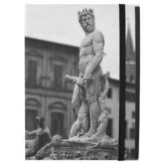 Neptune Statue Florence Ipad Pro Case - elegant gifts gift ideas custom presents Greek Statues, Angel Statues, Ipad Pro, African Mythology, Roman Mythology, Minimal Logo Design, 17th Century Art, Old Cemeteries, Male Body