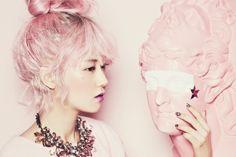 my photoset kpop pink kfashion K-fashion 4minute korean Gayoon k-pop united cube KPOP IDOL 4nia Heo GaYoon k-idol kpop set ksinger k-singer