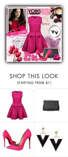 """""""Yoins"""" by t-871 ❤ liked on Polyvore featuring Christian Louboutin, WALL and yoins"""