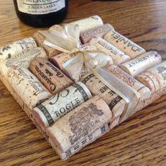 Square Wine Cork Trivet!  Find it Here: https://www.etsy.com/listing/175225287/recycled-used-wine-cork-trivets-set-of?ref=listing-shop-header-3