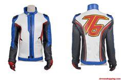 Arrow Mens Overwatch Soldier 76 Cosplay Costume Jacket Coat – ijojojf