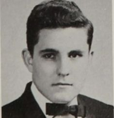 Rudy Giuliani in high school.