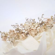 Hey, I found this really awesome Etsy listing at https://www.etsy.com/listing/216872620/gold-wedding-tiara-gold-wedding