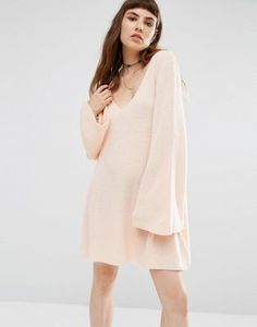 Shoptagr | Rokoko Knitted Swing Dress by Rokoko #style #fashion #trend #dress #onlineshop #shoptagr