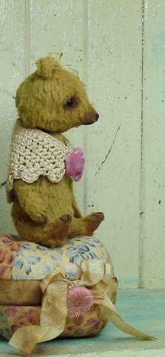 Bear Artistic Tree, Teddy Bear, Toys, Antiques, Friends, Animals, Painting, Activity Toys, Antiquities