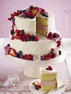 Our popular wedding cake recipe and more than other free recipes on LECKER. Our popular wedding cake recipe and more than other free recipes on LECKER. Diy Wedding Food, Wedding Cakes, Cake Recipes, Dessert Recipes, Cupcakes, Food Cakes, Cakes And More, Popular Recipes, No Bake Desserts
