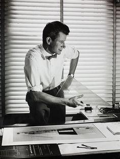 Robin Day in his studio (c1949)