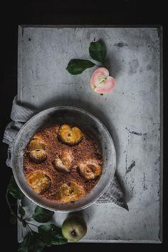 Caramel Apple Upside Down Cake by Eva Kosmas Flores   Adventures in Cooking