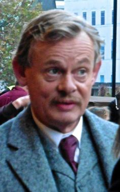 Martin Clunes filming of Arthur and George.  Oct/Nov 2014