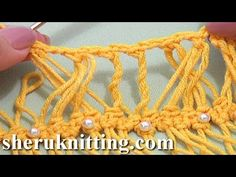 Hairpin Crochet Braid Tutorial 29 Design Hairpin Braid With Additional Crochet - YouTube