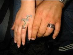 Image detail for -wedding rings – Tattoo Picture at CheckoutMyInk.com