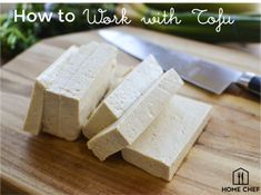 How-to work with tofu - this little protein-packed wonder is beloved by carnivores and veg-heads alike, and is one of the most versatile, nutritious, and cost-effective ingredients to have on-hand.  #homechef #love #meal #cookingtechniques #technique #howto #cook #recipe #tofu #foodhacks