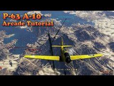 War Thunder - P-63 Kingcobra Arcade Guide Part 1 - http://freetoplaymmorpgs.com/war-thunder/war-thunder-p-63-kingcobra-arcade-guide-part-1