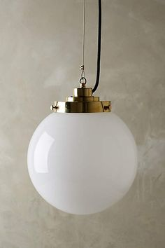 Large Globe Pendant Lamp - anthropologie.com