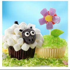 Springtime cupcakes!!! From land o lakes