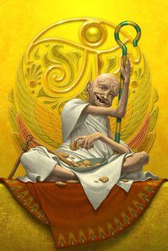 Ra [the Sun God] from Kane Chronicles