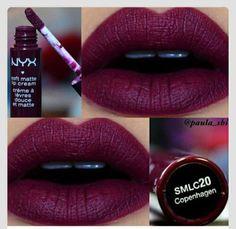 make-up burgundy lipstick lip stain lip gloss red lipstick