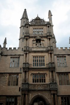 bodleian library tower