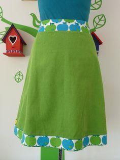 Miss Apple Green (Size M / 38) Skirt A-line