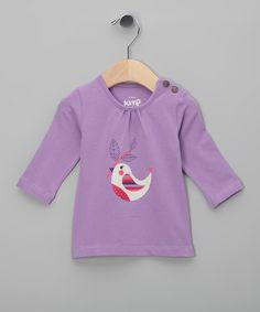 Take a look at this Mauve Bird Organic Top - Infant & Toddler by Kite Kids on #zulily today!