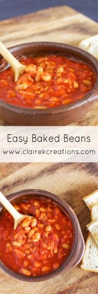 Easy baked beans via