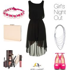"""Girl's Night Out"" by christinamartinaxoxo on Polyvore"