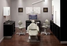 Dental office designed using Midmark's color selector!