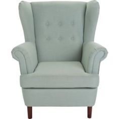 Buy Martha Fabric Wingback Chair - Duck Egg at Argos.co.uk - Your Online Shop for Armchairs and chairs.