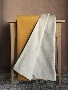 Our double sided throws are unique and custome made for our Linen and Myrrh brand. The throws are made of soft velvet, fur and much more softy goodness. Comfy Armchair, Small Throws, Home Decor Bedroom, Velvet, Fur, Blanket, Yellow, Unique, Blankets