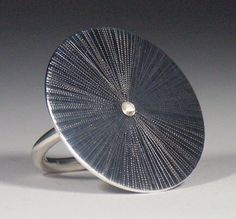Large Starburst Ring Made in Your Size by MikeandMary on Etsy