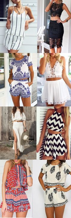 Fashion New Style Two Piece Outfits