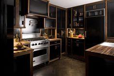 A decoração preta pode assustar, a princípio, mas está sendo bastante usada (Foto Ilustrativa)