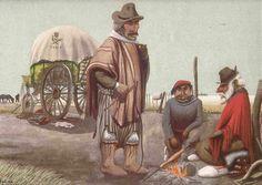 El GAUCHOGUACHO: Paisajes  Molina Campos