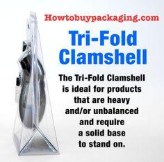 Tri-Fold Blister Side Profile