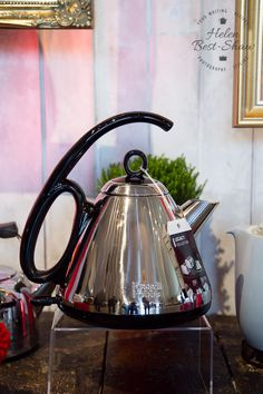 Russell Hobbs invented the world's first automatic electric kettle back in 1955.
