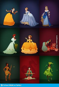 Historical Disney Princess by Claire Hummel