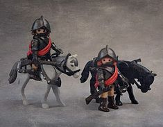 XVII CENTURY CUSTOM PLAYMOBIL CAVALRY Maybe Someday, Musketeers, Equine Art, Legos, Geek Stuff, Miniatures, Horses, Superhero, Fun