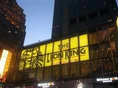 Lion King on Broadway NYC