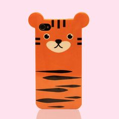 iPhone 4/4S Tiger Case - WHAT?? Ah! I love these!