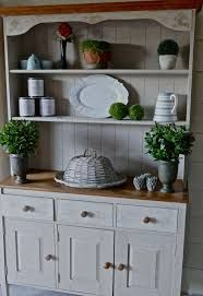 Image result for chalk paint hutch dresser