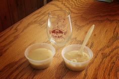 Bacon Potato Soup made at Goose Watch Winery for Cayuga Lake Wine Trail's 2015 Bacon on the Lakein event