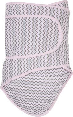 Master the swaddle for a happy, well-rested baby. The Miracle Blanket Swaddle makes it easy with its simple and effective lateral belly wrap design. Crafted of soft cotton, this swaddle securely comforts your baby to ease fussiness and help prevent colic. Best Baby Blankets, Baby Swaddle Blankets, Cotton Blankets, Grey Chevron, Pink Grey, Miracle Blanket, Swaddle Wrap, Wearable Blanket, Baby Invitations