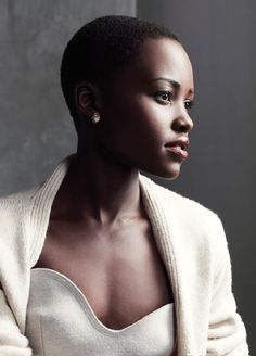 Lupita Nyong'o. She is just beautiful. Whenever I see her, she will be pinned. Her skin tone is flawless.