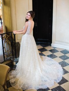 The Suite Life // Gown from Bridal Boutique. Hair + makeup by Randee Strand Artistry. Venue: Rosewood Mansion on Turtle Creek. Planner, stylist & florist: Tami Winn Events. Photo taken by Allen Tsai Photography. #bridesofnorthtx #bridal #bride #gown #wedding