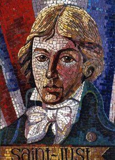 Camille Desmoulins, French Revolution, Mosaic Art, Sculpture Art, Nostalgia, Saints, Painting, Character, Guys