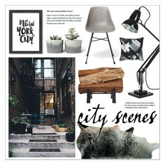 """""""Untitled #404"""" by zitanagy ❤ liked on Polyvore featuring interior, interiors, interior design, home, home decor, interior decorating, Americanflat, Anglepoise and Lyon Béton"""